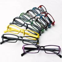 5Pcs/Lot Hinggan non-mainstream glasses box frame fashion myopia ultra-light frame eyeglasses lenses Free Shipping