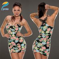 2014 New summer Elegant Ladies Bodycon Midi Dresses Butterfly Print Pencil Bandage Evning Party Prom Sexy Women Dress HW0231