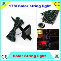55ft 17m 100 LED Waterproof RGB  white Solar String Fairy White Lights Larger Solar Panel Outdoor Garden Xmas New Year CE ROHS