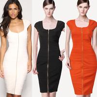 Women's slim one-piece dress vest one-piece dress
