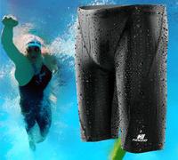 plus L-4XL Swimwear men swim shorts trunks gym swimming shorts for men speed brand swimsuit mens swim wear beachwear sexy long