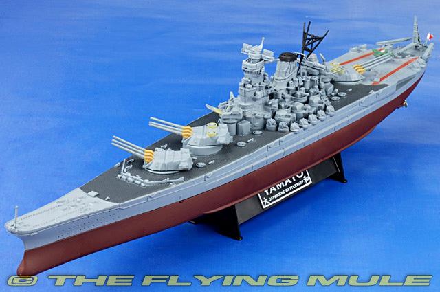 FOV 86014 1:700 WWII Japanese Battleship Yamato model alloy model of warship(China (Mainland))