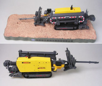 1:35 construction machinery horizontal directional XZ320 drilling DIecAST model toy