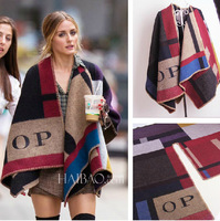Famous Brand Women Scarf Cashmere Scarf Patchwork Shawl Fashion Scarves Winter