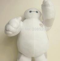 Free EMS 40/Lot 30CM=12inch 2014 New Marvel Movie Big Hero 6 Plush Big Hero 6 Baymax Robot Plush Toy Stuffed Doll for Baby Gift
