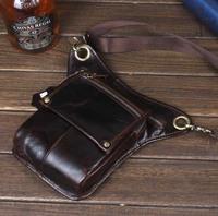 genuine leather messenger bags for men waist bag shoulder bags cowhide crossbody bags