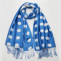 70*175cm 2014 New National Wind Gradient Dot Women Winter Wrap Shawl Pashmina Tassels Scarves Free Shipping