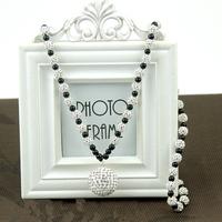 2015 Big New Shamb Disco Ball Bead Necklace ,  shambhala pendents wholesale
