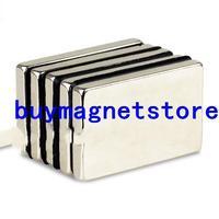 2pcs Super Strong Cuboid Block Magnets 40 * 25 * 5mm Rare Earth Neodymium N35