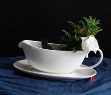 Europeus e americanos famosa novo osso china cerâmica louça de porcelana tigela suco de balde de leite pote de molho pratos dois conjuntos 0.77(China (Mainland))