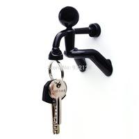 Latest Popular Lovely Creative Super Man Magnet Key Holder Pete Strong Rack Magnetic Hook-gift