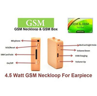 Skin Color 4.5 Watts Long Distance Powerful GSM BOX with Wireless Micro Hidden Earpiece