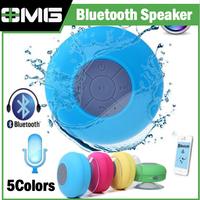Bluetooth Speaker Shower Portable Waterproof Wireless Car Handsfree Call Mic Wireless Shower MINI Speaker with Sucker Suction