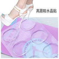 30pcs/lot Silicone Gel Heel Shoes Cushion Foot Care Shoe Pads Insole Free Shipping