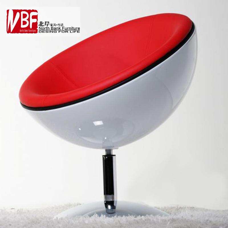 Swivel chair ikea minimalist modern lounge chair bedroom chair round