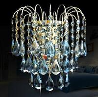 Modern wall lamp luxury crystal wall lamp led wall light bedside lamp
