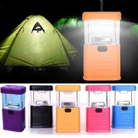 Wholesale High Quality 2014 New Camp lamp 11 LED Hand lamp Tent light Hiking/Camping Handlight For Outdoors