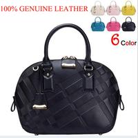 Hot Women Handbag Genuine Leather Bag Cowhide Women Shoulder Bags Shell Messenger Bag Women Bag Tote Clutch Desigual Bolsas