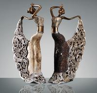 The peacock dancer  100% hand made resin material Christmas gift  New fashion  dangcer girl art Home decor