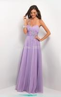 2014 New Arrival Luxury Elegant Purple One Shoulder Chiffon Evening Dress Long Plus Size Wedding Party Dress