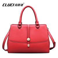 Free shipping GLUCI trend handbags 2014 new genuine leather bag ladies handbag European and American style