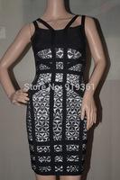 2014 Hot free shipping bandage dress evening dress party dress vestidos