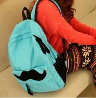 2014 Hot Sale Women's Canvas Travel Satchel Shoulder Bag Backpack School Rucksack