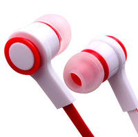 Hot Free shipping 3.5mm Stereo Mobile In ear headset headphone earphones for Smart phone iphone 4 4S 5 5S 6 Samsung MP3 MP4 E8Re