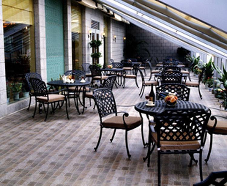 Groothandel witte terrasmeubilair kopen witte terrasmeubilair partijen uit china witte - Leuningen smeedijzeren patio ...