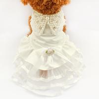 Armi store Pet Dog Pearl Diamond Wedding Dress 73002 Dogs Princess Dress