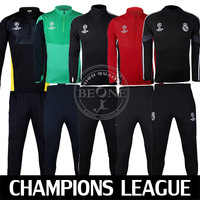 14 / 15 Champions League Soccer Training suit Jacket Real madrid tracksuit Sweatshirts Sportsswear Free shipping