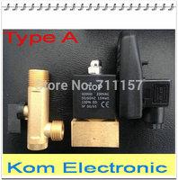 2 Way 1/2'' Compressor Auto Condensate Drain Digital Timer Valve Solenoid Valves, DC24V AC110V or AC220V , 1.6Mpa