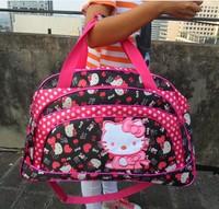 women    luggage travel bags  Kitty   High capacity  Handbags   Messegerbags