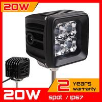3inch 20W LED Work Light Tractor Truck 12v 24v SPOT Offroad Fog Drive light LED Worklight External Light seckill 55w 75w
