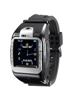"""smart watch phone with SIM card slot good spy camera 1.4"""" touch screen bluetooth new unlock watch mobile phone"""