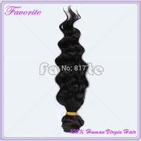 6A Malaysian Human Hair Extension Virgin Hair Deep Wave 1Pcs Lot Good Quality Unprocessed Virgin Malaysian Hair Weave Bundles