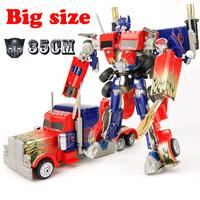 Action figure toys 35cm Optimus Prime robocar model super change robot super hero educational toy The best gift for children