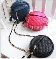 2014 new Ms. shoulder bag handbag shoulder bag retro fashion PU leather fringed mini chain bag handbag clutch purse