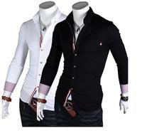 Free ShippingColour matching men's shirts blouses