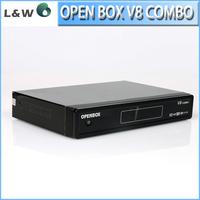 5pcs/ lot Openbox V8 combo DVB-S2 +DVB-T2 Tuner Option CAS,USB,PVR Ready  Support USB Wifi,Youtube openbox v8 Satellite Receiver