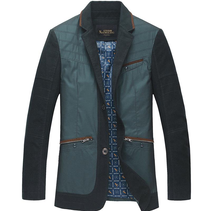 Mens Green Suit Jacket Men 39 s Suit Collar Jacket