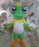 New christmas big eyes prince frog mascot costume kids party costume