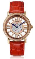 Dom brand women watches ladies quartz watch clock women christmas gift woman casual fashion luxury watch relogios femininos 2014
