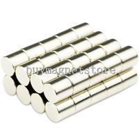 5*5 100pcs Small Round Cylinder Neodymium Magnets 5 x 5 mm Disc Rare Earth Neo N50 Free Shippingndfeb Neodymium  magnets