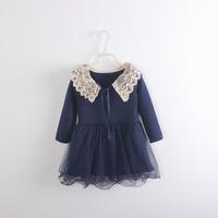 Girls lace princess dress ,  kids dresses  ,4pcs/lot  ZCX02