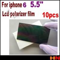 10pcs For iphone 6 plus 5.5'' 5.5inch High quality Plorizer film polarizer for iphone 6 refurbishment