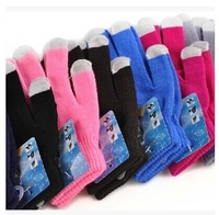 Induction gloves screen mobile phone gloves autumn and winter thermal gloves 30g