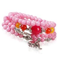 Fashion nature stone strand bracelets for women charm jewelry wholesale