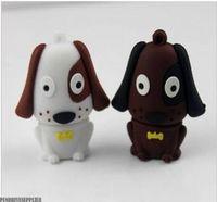 Lovely Pen drive cartoon Dog USB flash drive 2.0 Pen stick memory U disk 4GB 8GB 16GB 32GB