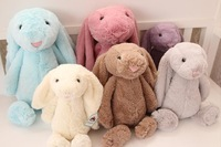 Baby Plush Animals Dolls Cute Bunny Rabbit Toys Babe Children Boys Girls Comfort Doll New Year Gift Free Drop Shipping Wholesale